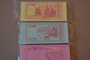 Funny Money, Rice Paper Edible Money 3 x 14g Retro Sweets