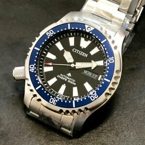 Citizen PROMASTER Automatic NY0098-84E Fugo Left Crown Limited Edition Navy