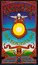 More details for the grateful dead concert window poster - theatre of madness hawaii rock reprint