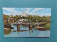VINTAGE MODEL VILLAGE GREAT YARMOUTH NORFOLK OLD USED POSTCARD COLLECTORS  1974