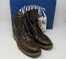 """Whites Boots. MP361-D, Cinn wax,8.5 D, 6"""", Dainite sole."""