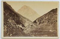 Le Pic Du Midi Di Bigorre Vintage Albumina 1880