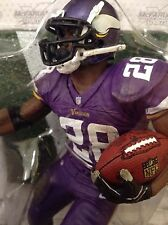 NFL MINNESOTA VIKINGS ADRIAN PETERSON / McFARLANES SERIES 34  / only $5 SHIPPING