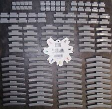 120 PC ASSORTMENT AW STYLE   COATED LEAD   ALLOY WHEEL WEIGHTS .25 - 3.00 oz.
