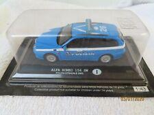 """NEW-RAY  ALFA ROMEO 156 SW """" POLICE"""" New in sealed bubble box  """"~*"""
