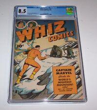 Whiz Comics #70 - 1946 Fawcett Golden Age issue - CGC VF+ 8.5