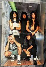 Anthrax / Scott Ian / Charlie Benante / Magazine Centerfold Pinup + Free Dvd