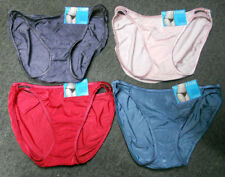4 pack VANITY FAIR String Bikini ILLUMINATION 18108 mixed colors PANTY - 7 / L