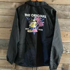 Vans X Mickey Mouse Disney Jacket Men's L Torrey Coaches Large Black New