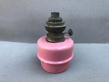 Ancienne pied de lampe à pétrole porcelaine déco vintage french antique lampe
