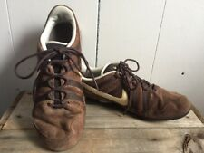 VTG Nike Shox Brown Suede Lace Up Sneakers Size 9.5