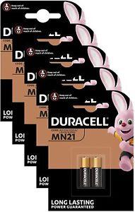 10x Duracell Batterie MN21 12V 23A 3LR50 V23GA 23AE LRV08 CN23A (5 x 2er Pack)