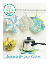 Kwik Sew K236 Seashells for your Kitchen PATTERN - Pot Holders - Brand New - OSZ