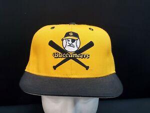 90s VTG SALEM BUCCANEERS Pittsburg Pirates Pro Model MILB Fitted Hat 7 1/2 USA
