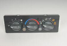 Pontiac GM OEM Grand Am-Climate Control Unit Temperature Fan Heater A/C 9375632