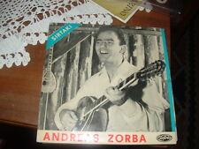 "ANDREAS ZORBA   SIRTAKI  "" DANCE AVEC MOI ( BOUBOULINA ) + 3  "" E.P.  BELGIO'6?"