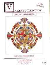 Vickery Collection Celtic Medallion - Cross Stitch Pattern