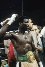 Old Boxing Photo Matthew Saad Muhammad Celebrates Winning The Fight