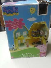 Casa de Peppa Pig de Bandai completa con caja e instrucciones