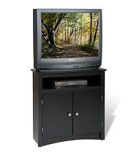 "Sonoma 32"" Tall Corner TV Cabinet Stand - Black -NEW"