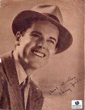 Henry Fonda Autographed/Signed Vintage 5X7 Sepia Photo W/Global COA-Actor