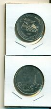 From Show Inv. - 2 UNC. 100 DRAM COINS from ARMENIA - 1996 & 1997 (2 TYPES)