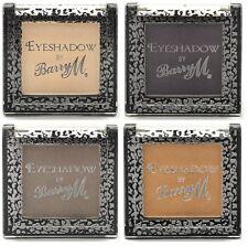 Barry M Single eyeshadow shades 1 4 11 12 cream purple bronze brown