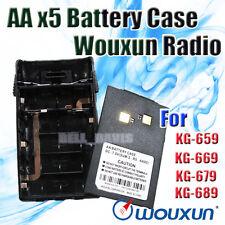 Original Wouxun AA battery case for KG-UVD1P KGUVD1P