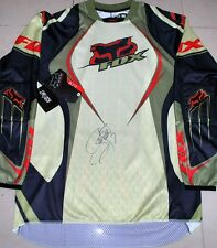 JAMES BUBBA STEWART Signed FOX Blitz Jersey *medium