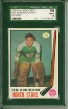 1969 - 1970 O-PEE-CHEE Ken Broderick RC Minnesota North Stars #197 SGC 96 Mint 9