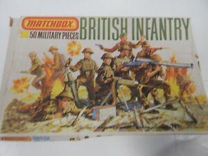 MATCHBOX plastic 8th Army / British infantry