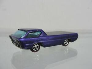 "1967 MATTEL HOT WHEELS REDLINE DEORA PURPLE DIECAST 3"" SPECTRAFLAME CAR"