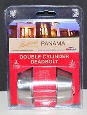 Gainsborough  Panama Double Cylinder Deadbolt brushed Satin