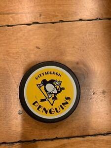 PITTSBURGH PENGUINS NHL HOCKEY PUCK