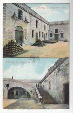 [50824] Old Postcard Doorway & Stairway in St. Augustine, Florida