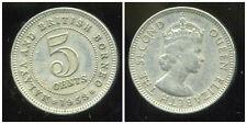 MALAISIE ( MALAYA BRITISH BORNEO )  5 cents 1953