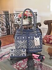 WESTERN MONTANA WEST FLORAL EMBROIDERY CROC CONCEALED CARRY GUN HANDBAG+WALLET