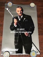 THE AVENGERS SIR AUGUST 27X40 DS MOVIE POSTER ONE SHEET NEW AUTHENTIC