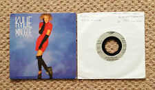 "KYLIE MINOGUE - GOT TO BE CERTAIN & WOULDN'T CHANGE A THING UK 7"" VINYL's"