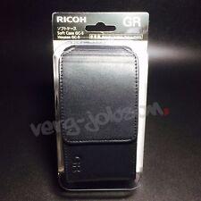 RICOH GC-5 175790 Digital Camera Soft Leather Case Black for GR Original New