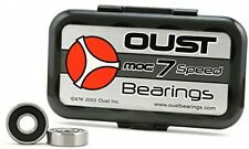 OUST MOC 7 TECH Bearings Skateboard Longboard Skates Razor 8pack