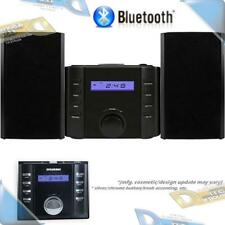 NEW SYLVANIA Bluetooth CD Micro Stereo Shelf System w/ AM/FM Radio Receiver