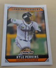 Kyle Perkins 2018/19 Australian Baseball League card - Canberra Cavalry