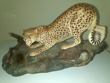Beswick cheetah on rock 2715 matt