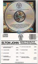 ELTON JOHN captain fantastic CD ALBUM west germany 821 746-2
