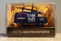 Wiking 1:87 41BM01 VW T2a Geldtransporter limitiert neuwertig mit OVP