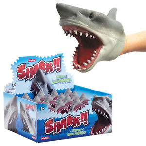 Schylling Vicious Shark Hand Puppet Has Endless Expressions