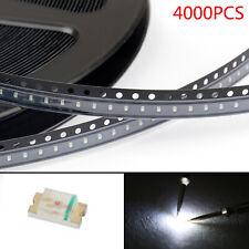 4000Pcs 0603 (1608) White Light SMD SMT LED Diodes Emitting Super Bright New