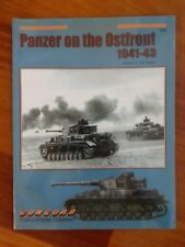 Concord Armor at War Series 7049 Panzer on the Ostfront 1941-43 Paperback Tiger