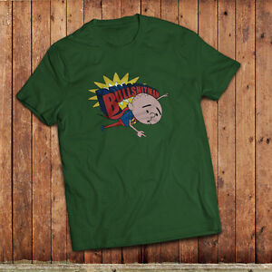 Bullshit man T-Shirt, isnpired by Karl Pilkingtons super hero from XFM radio
